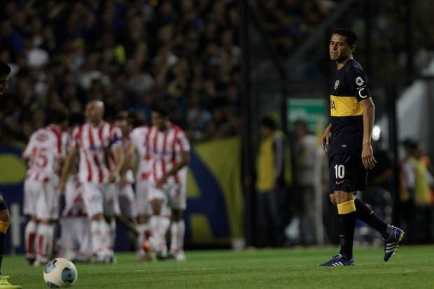En la vuelta de Riquelme, Unión le ganó 3-1 al equipo de Bianchi en la Bombonera.  Foto:LA NACION /Aníbal Greco