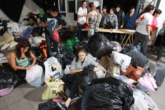 Cayeron 181 milímetros de agua, una cifra récord, que inundaron zonas densamente pobladas de la ciudad; la peor catástrofe de La Plata. Foto: LA NACION / Fabián Marelli