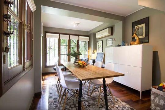Para los amantes de la decoración y el diseño, esta casa es un paraíso por descubrir. Foto: Gentileza Airbnb