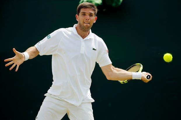 Delbonis perdió ante Fognini y se despidió de Wimbledon