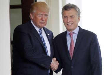 El gobierno nacional ultima gestiones con la administración de Donald Trump