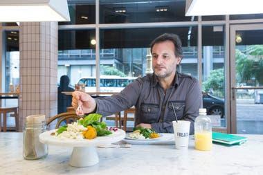 Facundo Bertranou, un green vivant que cambió su estilo de vida por una más saludable