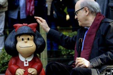 La tira de Quino es mundialmente famosa y ha sido traducida a más de 30 idiomas