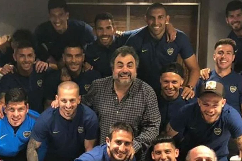 Boca viajó con un humorista a Madrid: Roberto Moldavsky, el hombre que distrae al plantel antes de la final