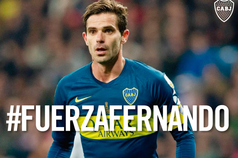 Rendirse jamás. Fernando Gago no piensa en el retiro y, por ahora, solo quiere desligarse de Boca en paz