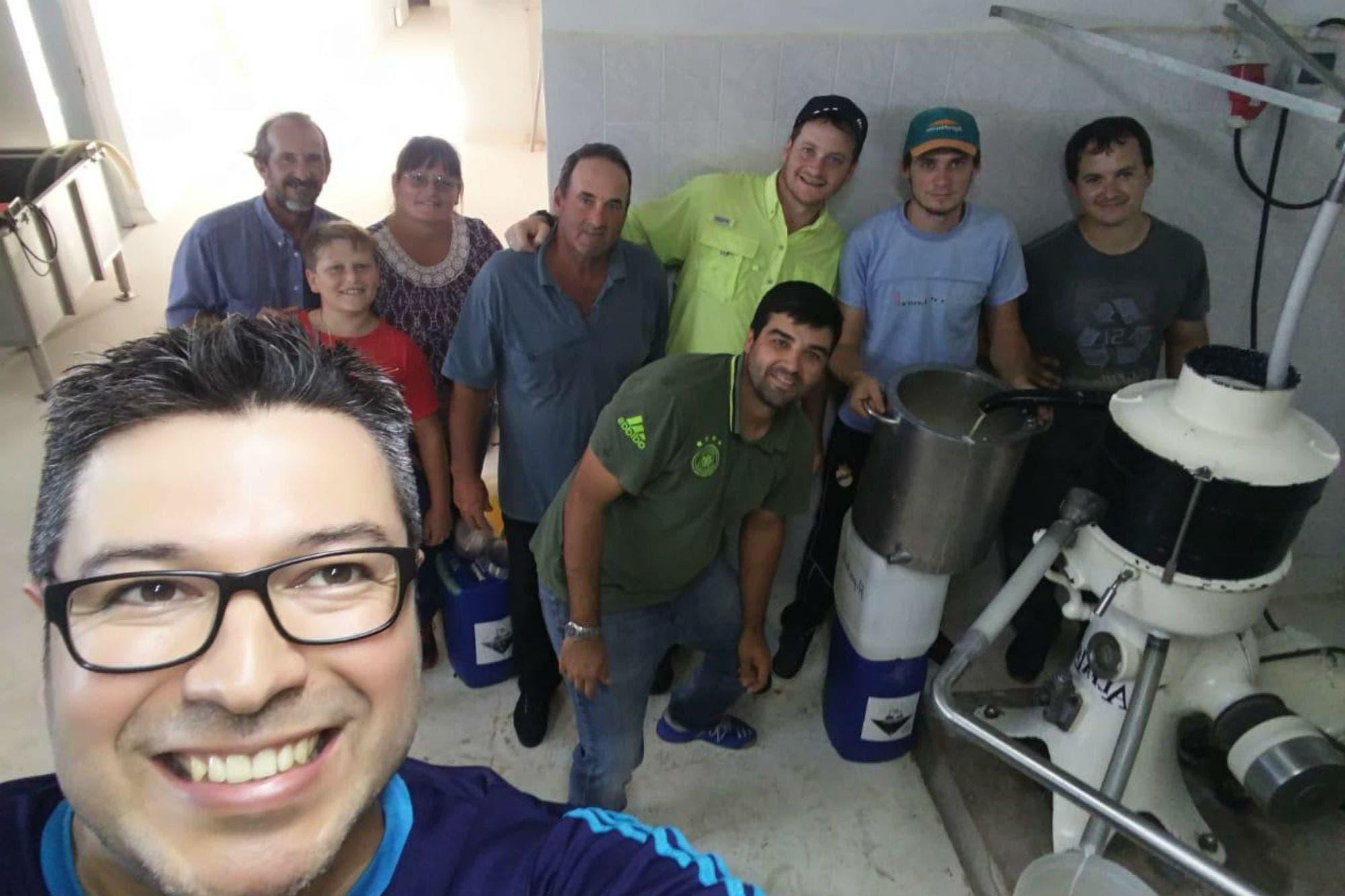Seis tamberos y un municipio de Santa Fe se unieron para abrir una industria láctea