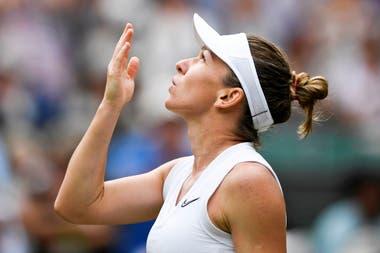 Simona Halep, la ex N°1 que se medirá con Serena en la final de Wimbledon