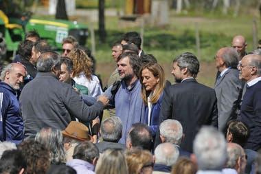 Padre Pepe, Victoria Tolosa, Carlos Tomada, Matías Lammens