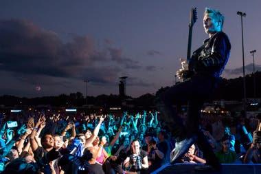 Matt Bellamy, líder y cantante de Muse