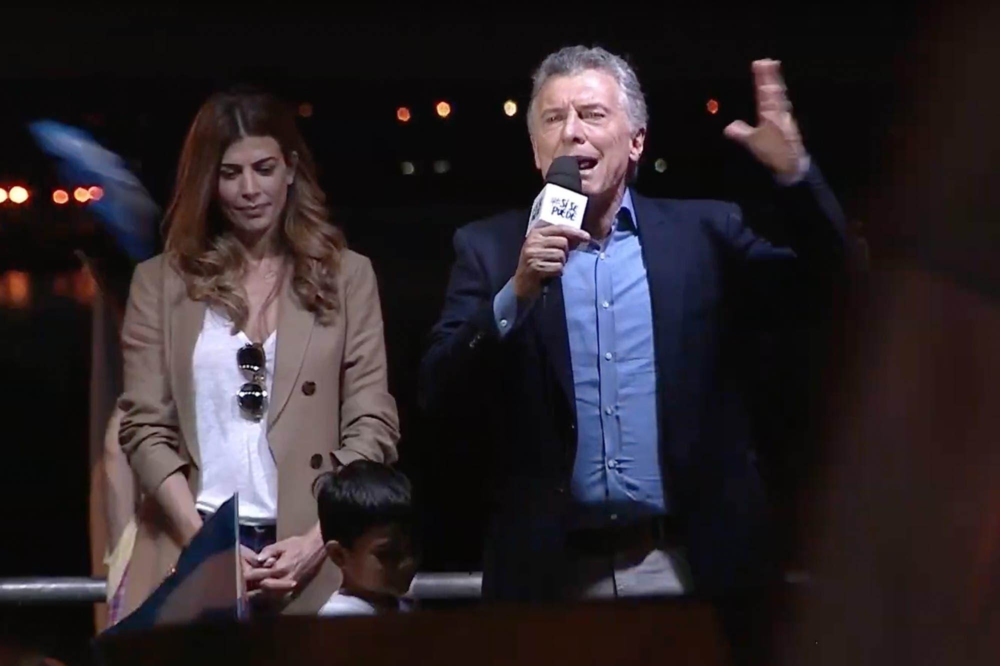 Mauricio Macri encabezó una nueva marcha Sí se puede, en Posadas