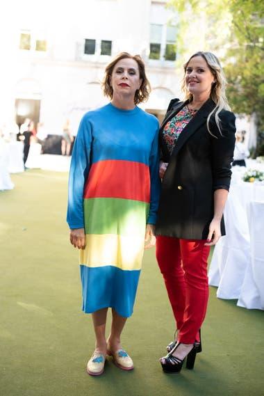 Agatha Ruiz de la Prada y Pilar Smith