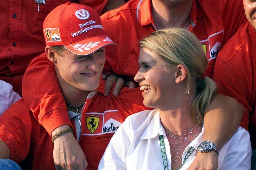 La esposa de Michael Schumacher rompió el silencio y habló de la salud de su marido