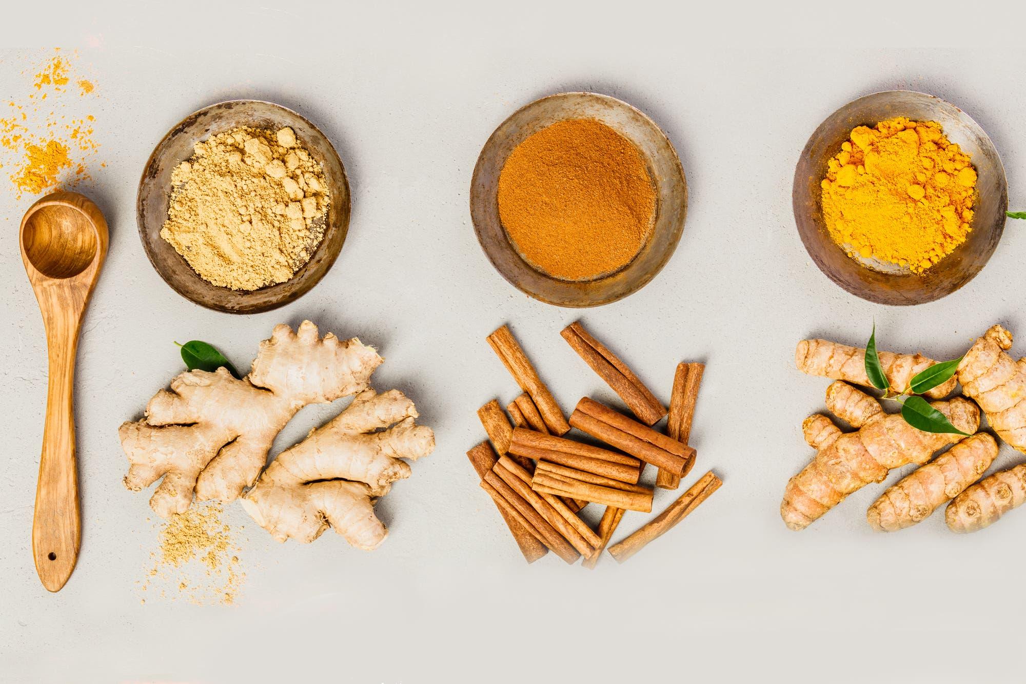 Jengibre, cúrcuma y canela: recetas para saborizar y nutrir platos ...