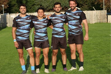 Adrián Belardo, Juan Gómez Artal, Agustín Brito Cardone y Agustín Capoccetti son algunos de los argentinos que juegan en Dublin Dogos.