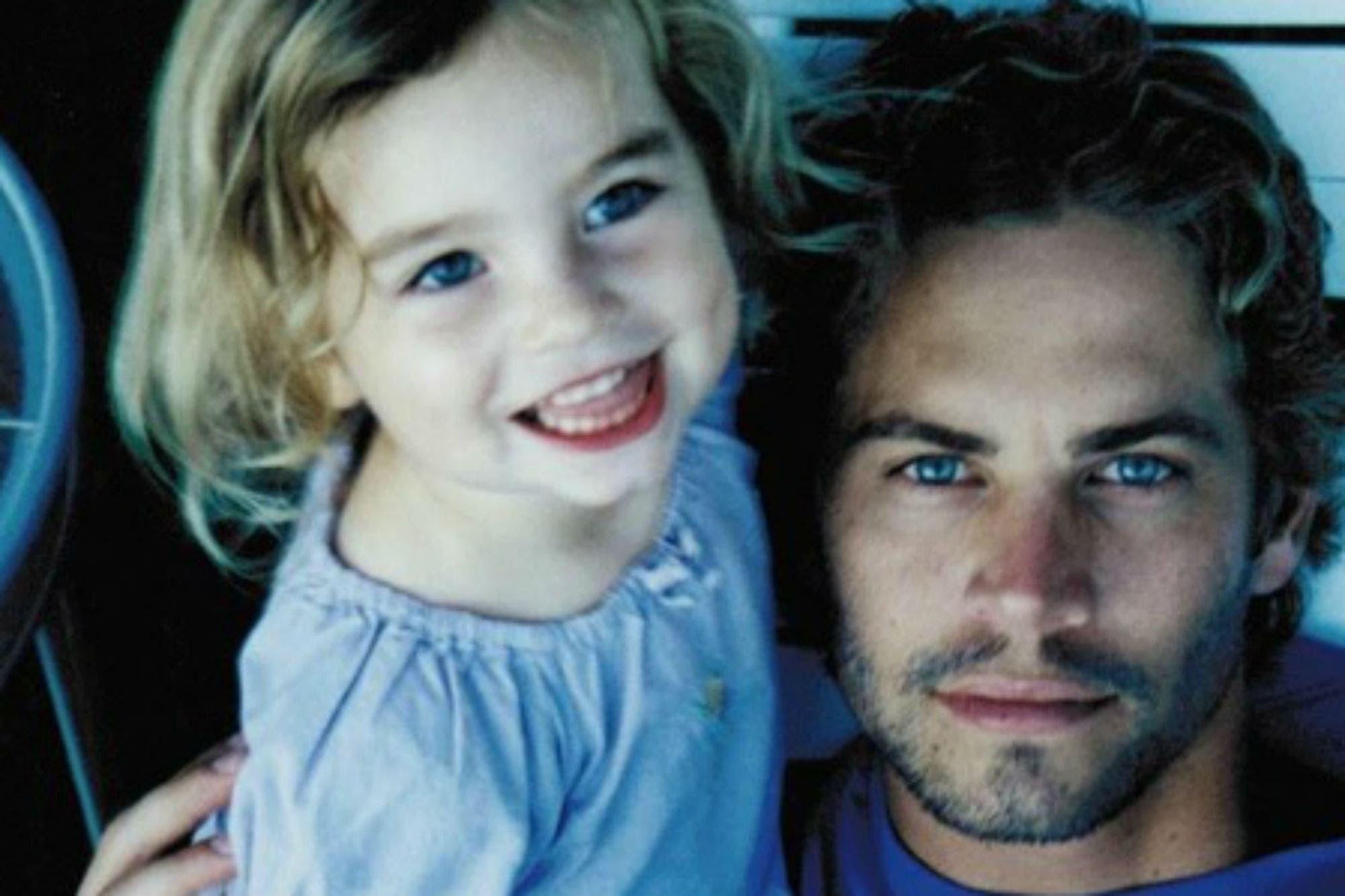 La hija de Paul Walker compartió un video inédito del actor