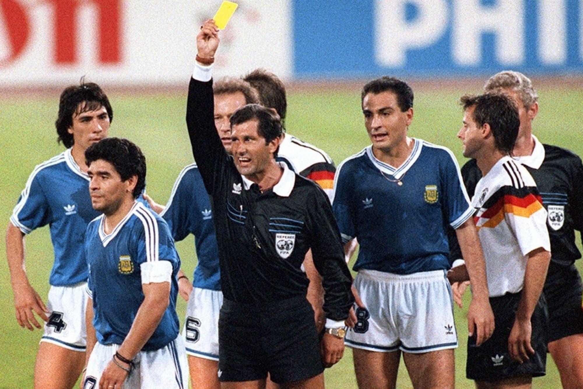 """""""Descarado"""": Oscar Ruggeri arremetió contra el árbitro de la final de Italia 1990, Edgardo Codesal"""