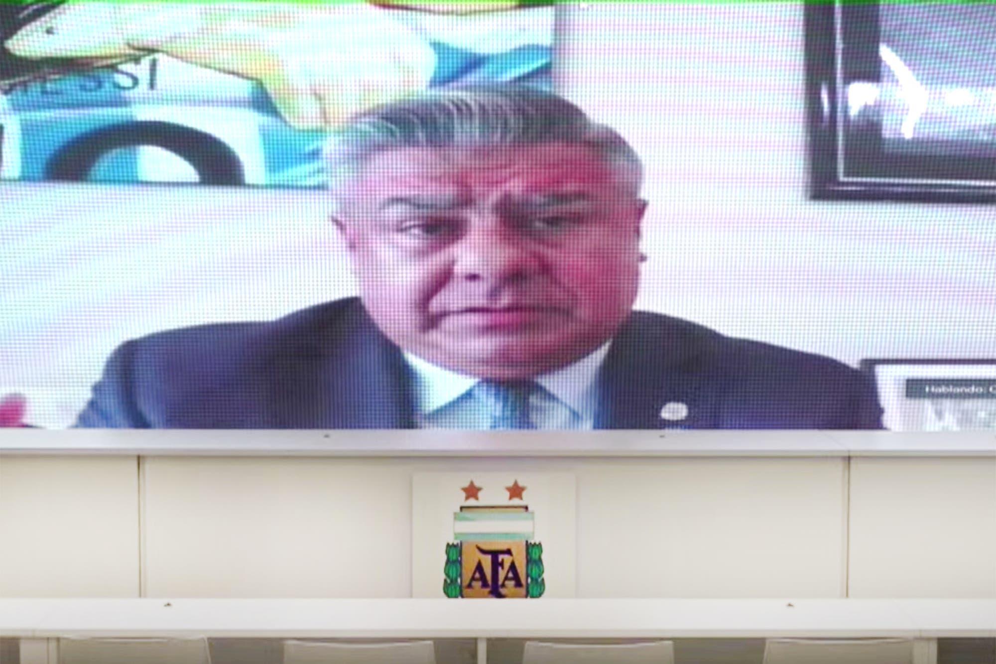 Asamblea virtual de la AFA: Tapia fue elegido presidente hasta 2025 por aclamación y el adiós a la Superliga