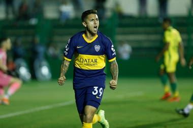 Afuera: Boca les colgó el cartel de transferibles a Sebastián Pérez, a Jan Hurtado y a Agustín Almendra (foto).