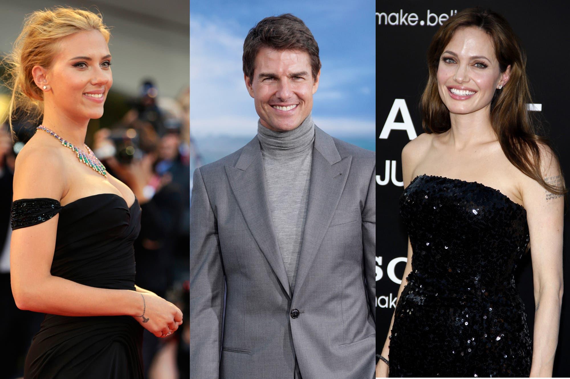 De Tom Cruise a Scarlett Johansson y Angelina Jolie, divorcios de famosos muy poco amistosos