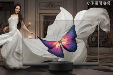 El televisor transparente de Xiaomi, em Mi TV Lux, una pantalla de 55 pulgadas FullHD