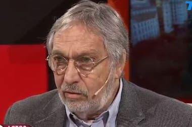 """Hasta que apareció la grieta la vida era normal"", aseguró el actor"