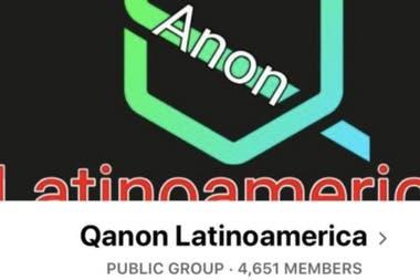 "El lema de QAnon Latinoamérica es ""el gran despertar"""