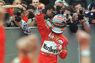 Michael Schumacher ganó 91 carreras de Fórmula 1; Hamilton lo igualará con su próximo triunfo.