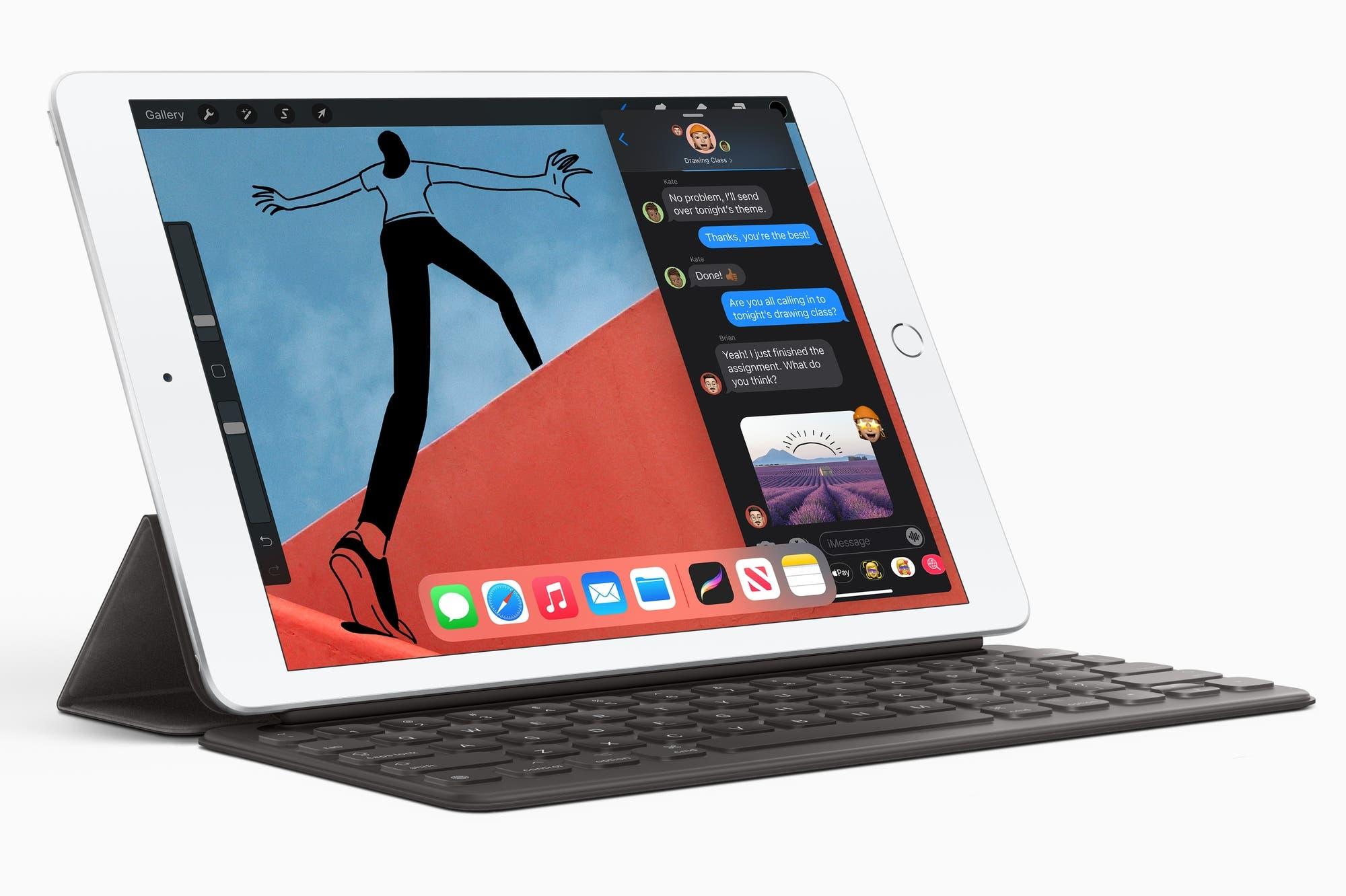Apple iPad: la octava generación de la tableta tiene nuevo hardware