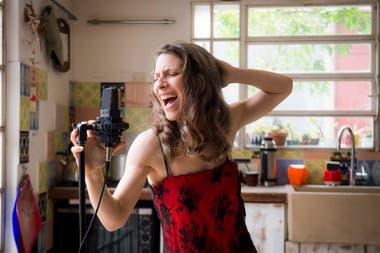 Elena Roger, en vivo, desde su casa