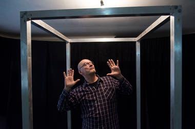 Carlos Belloso, un actor hiperactivo