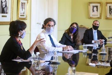 La Casa Rosada escenificó una fuerte muestra de apoyo de cara a la negociación con el FMI