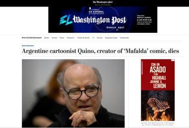 El diario Washington Post, de EE.UU.