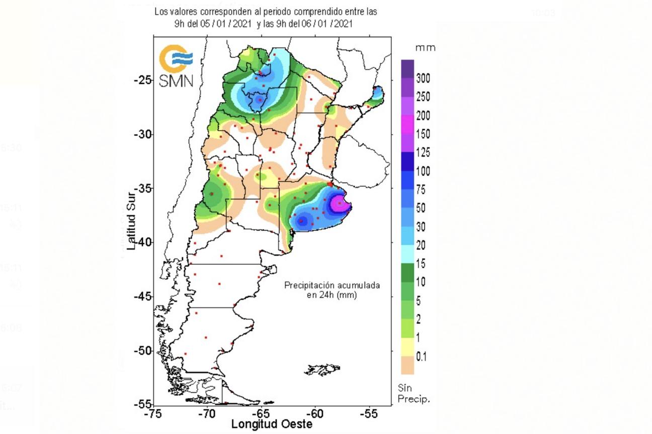 En una buena parte de la provincia de Buenos Aires va a quedar con reservas importantes de agua