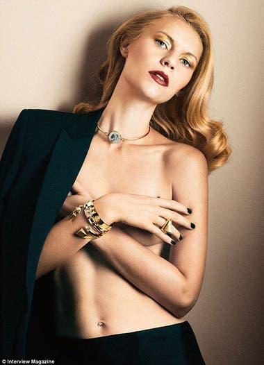 Claire Danes Impactante En Una Producción De Fotos Al Desnudo La
