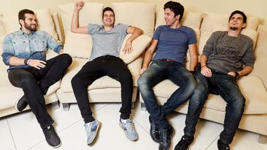Los youtubers Los youtubers Vegetta777, Staxx, Willyrex y Alexby