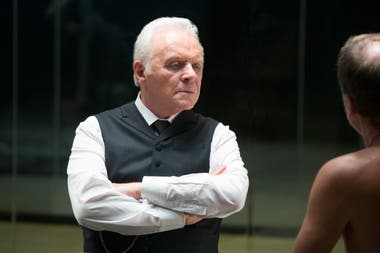 Anthony Hopkins en Westworld de HBO