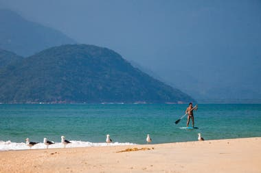 Stand up paddle en Ubatuba.