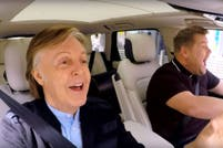 Así cantó Paul McCartney en el Carpool Karaoke de James Corden