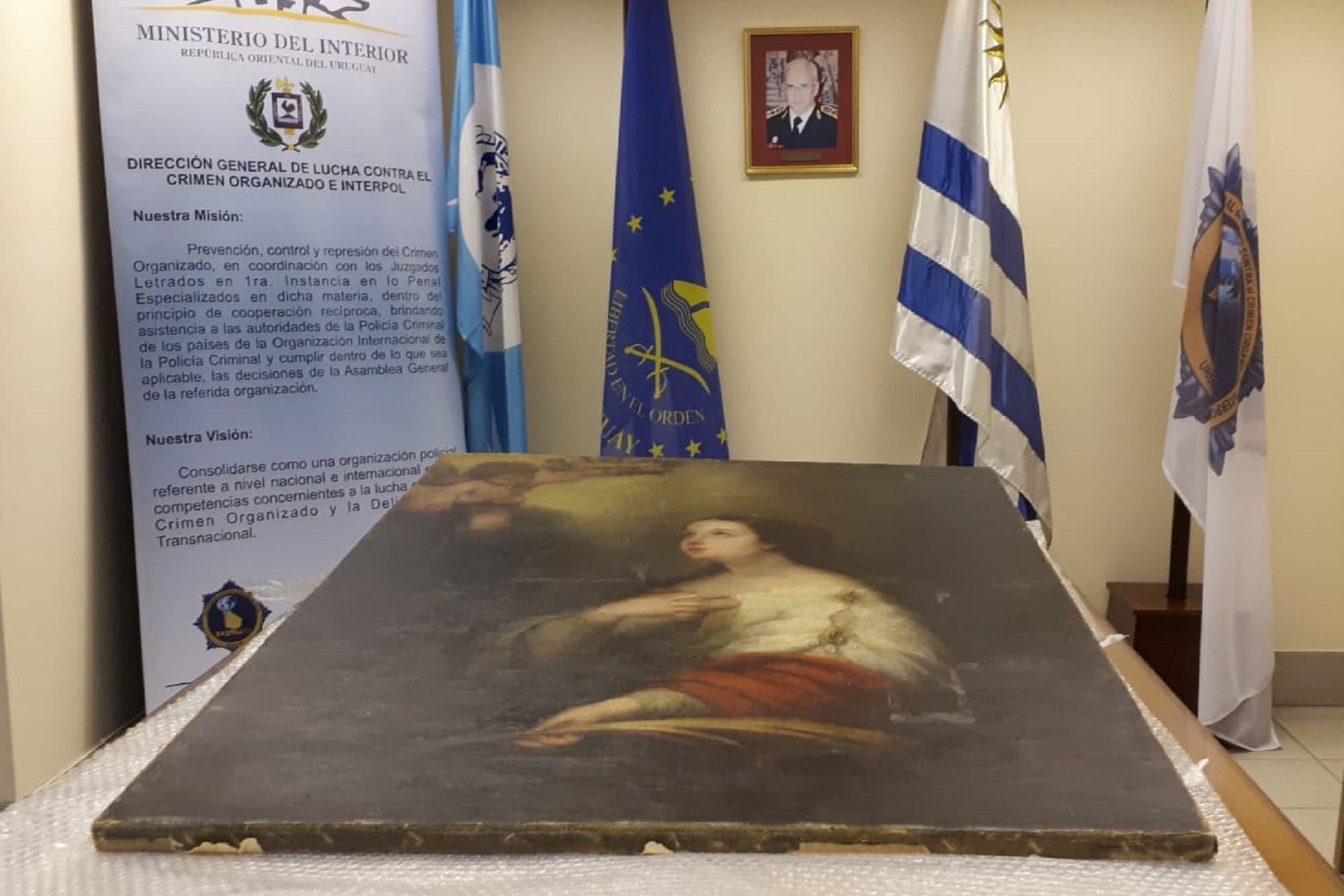 Recuperan en Uruguay un cuadro de Murillo robado hace 35 años de un museo de Rosario