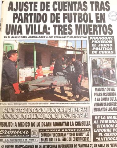 La primera masacre narco en la historia de la Ciudad de Buenos Aires: un traficante del Bajo Flores toma el control de la zona en 1999 con la fuerza de la sangre y de las armas