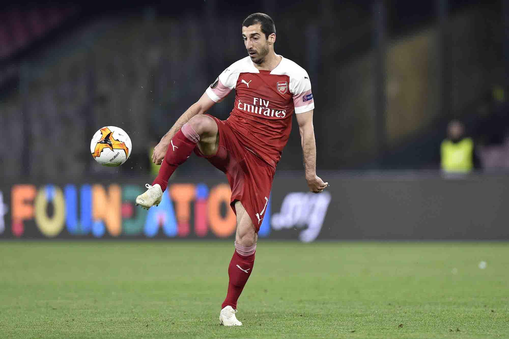 Henrikh Mkhitaryan, la estrella armenia del Arsenal que no jugará la final de la Europa League por un conflicto político