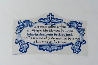 Mama Antula vivió y murió en marzo de 1799 en la casa de Constitución