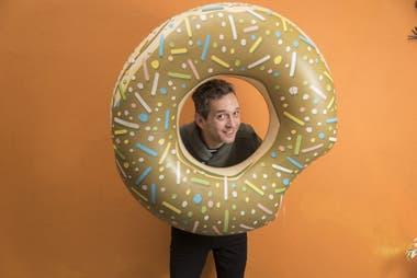 El multifacético Diego Reinhold presenta Comedy Show, el unipersonal que estrenó el año pasado