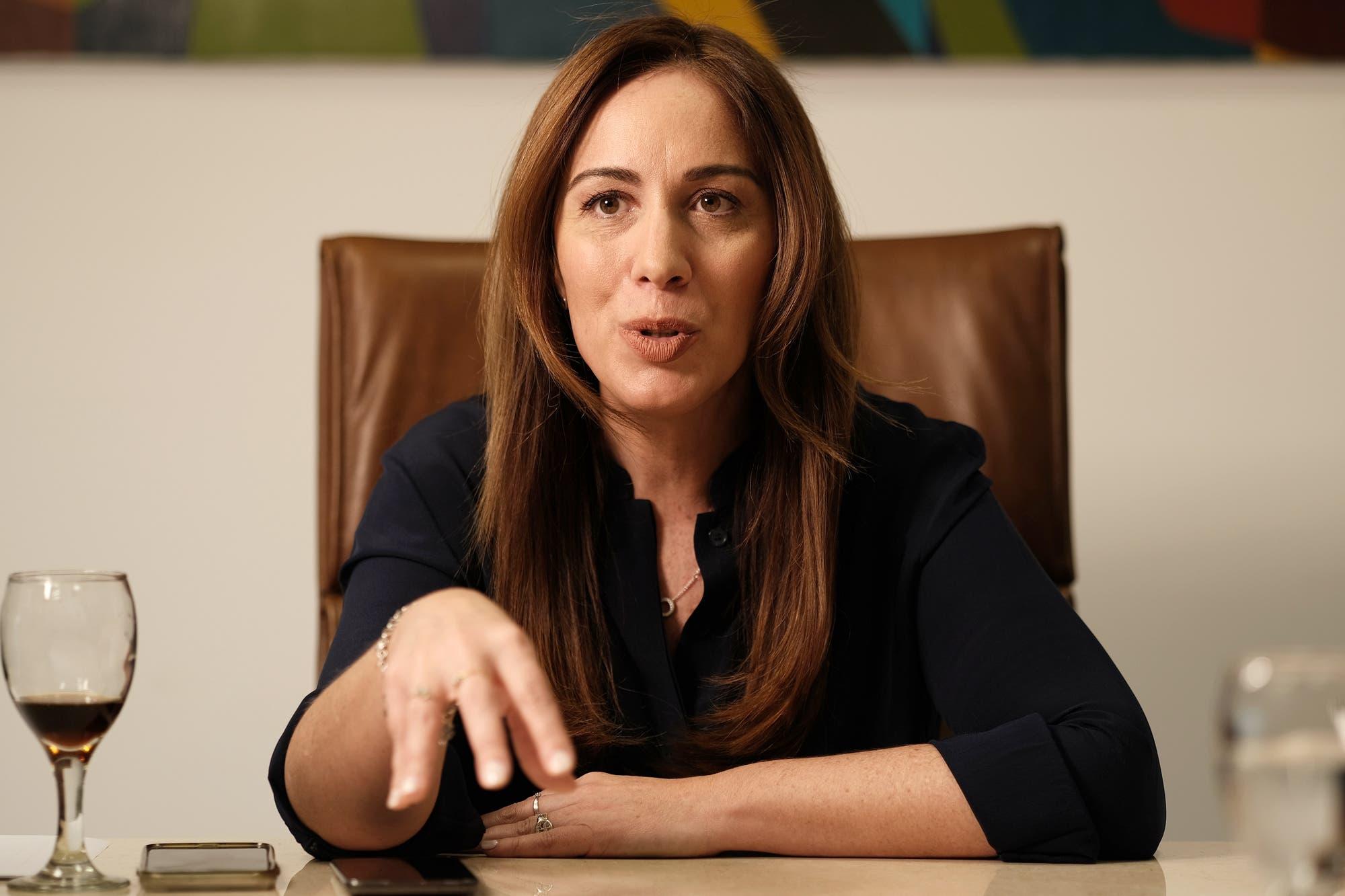 """María Eugenia Vidal: """"La crisis le ha pegado más duro a la provincia, sobre todo al conurbano"""""""