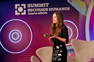 Sofía Terrile, periodista de LA NACION