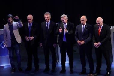 Los candidatos se cruzaron por temas de corrupción en el segundo debate presidencial