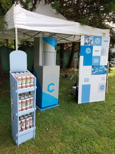Los emprendedores viajaron a Sudáfrica a presentarle el producto a uno de los gigantes mundiales del rubro de bebidas