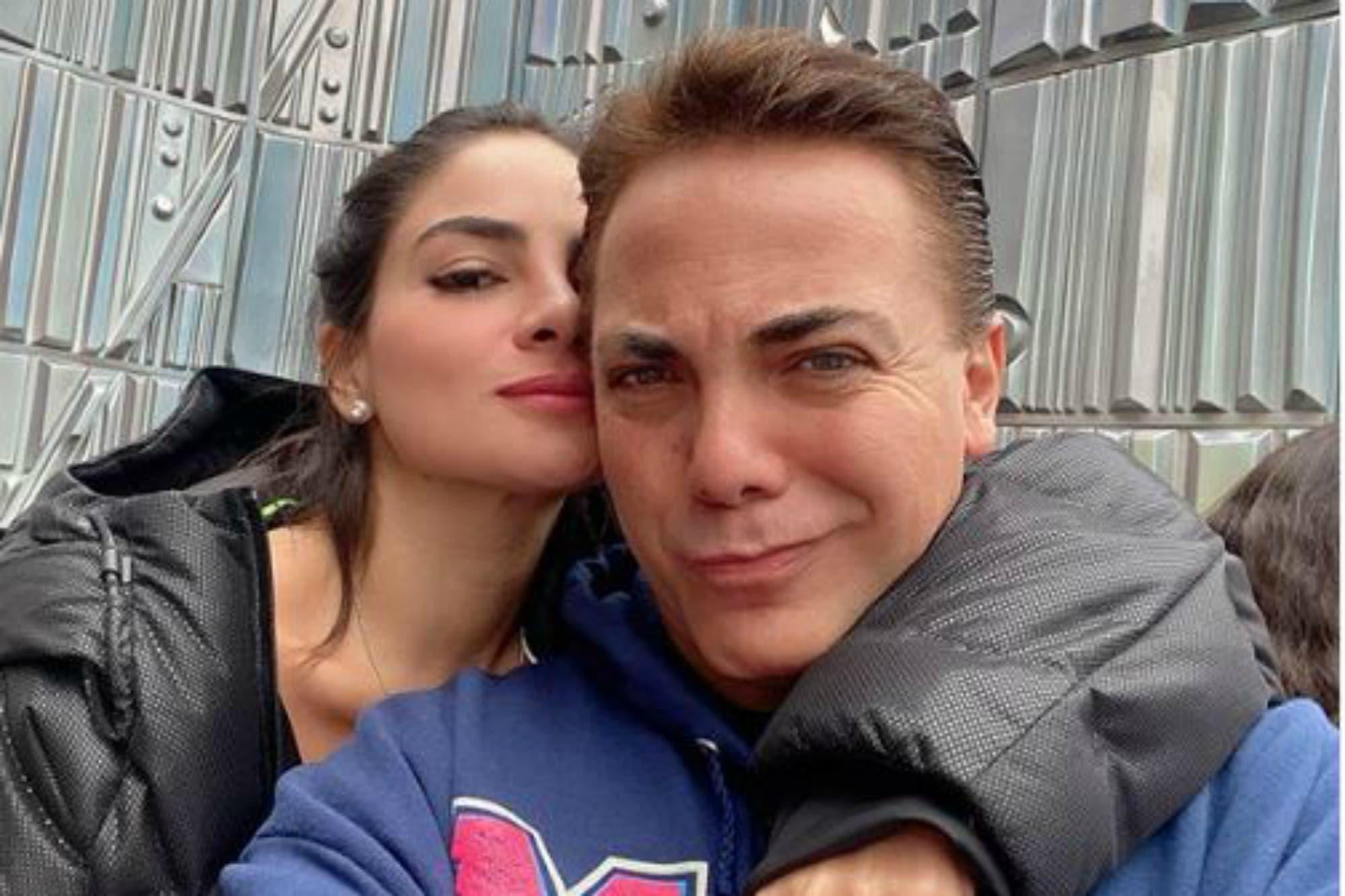 Cristian Castro se separó de su novia, la modelo colombiana Martha Muvdi