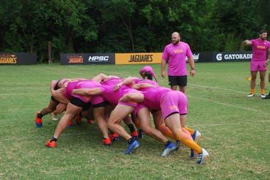 Bordoy es el preparador de los forwards de Jaguares, del alto rendimiento en el camino a la final del Súper Rugby de 2019.