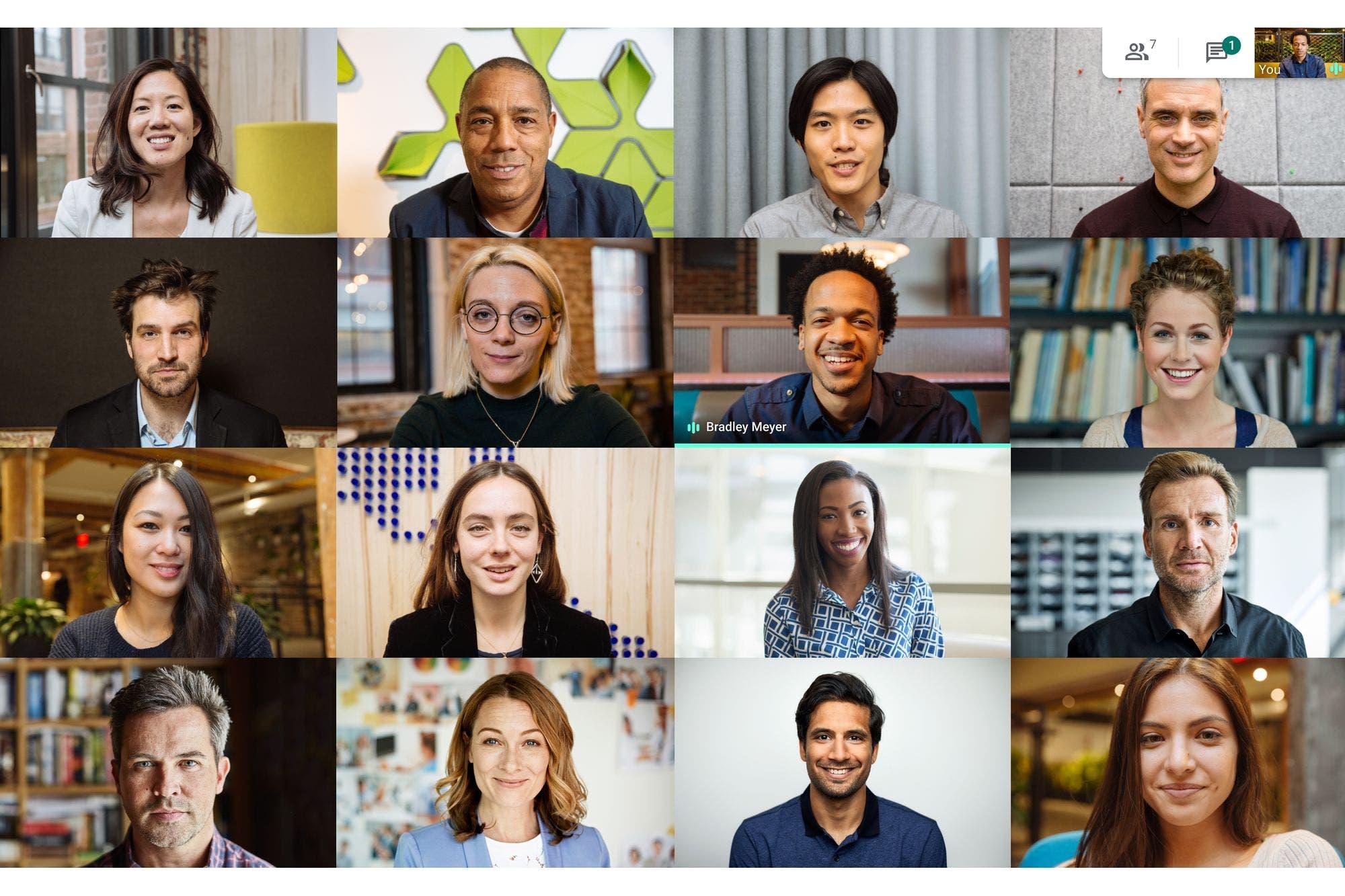 Google Meet: extienden el uso gratis sin límite de tiempo a marzo de 2021